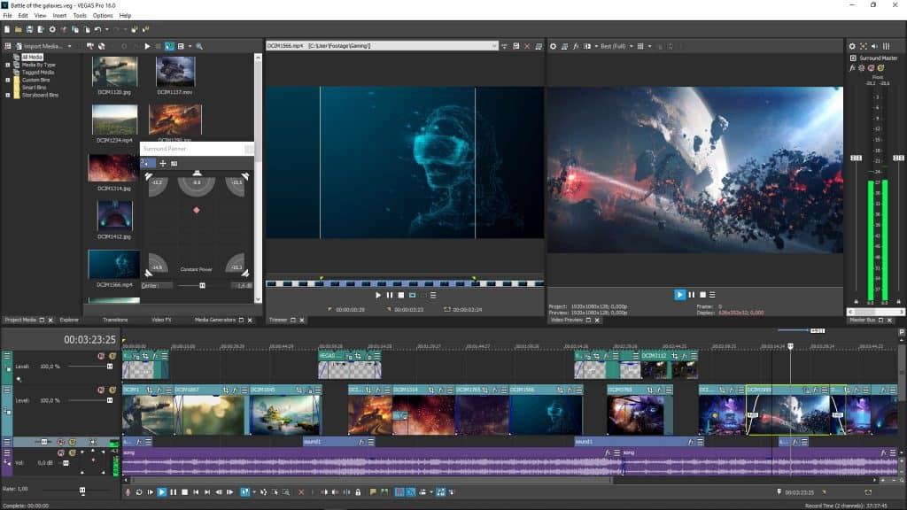 Edit Video Vegas Pro