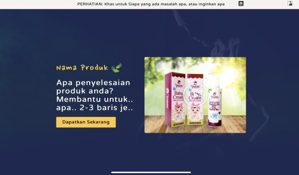 header youbaby sale page